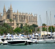 Protests over Spanish Boat tax at Palma Boat Show